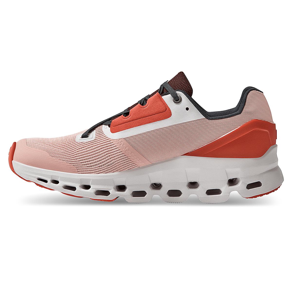 Women's On Cloudstratus 2.0 Running Shoe - Color: Rose/Red - Size: 5 - Width: Regular, Rose/Red, large, image 3