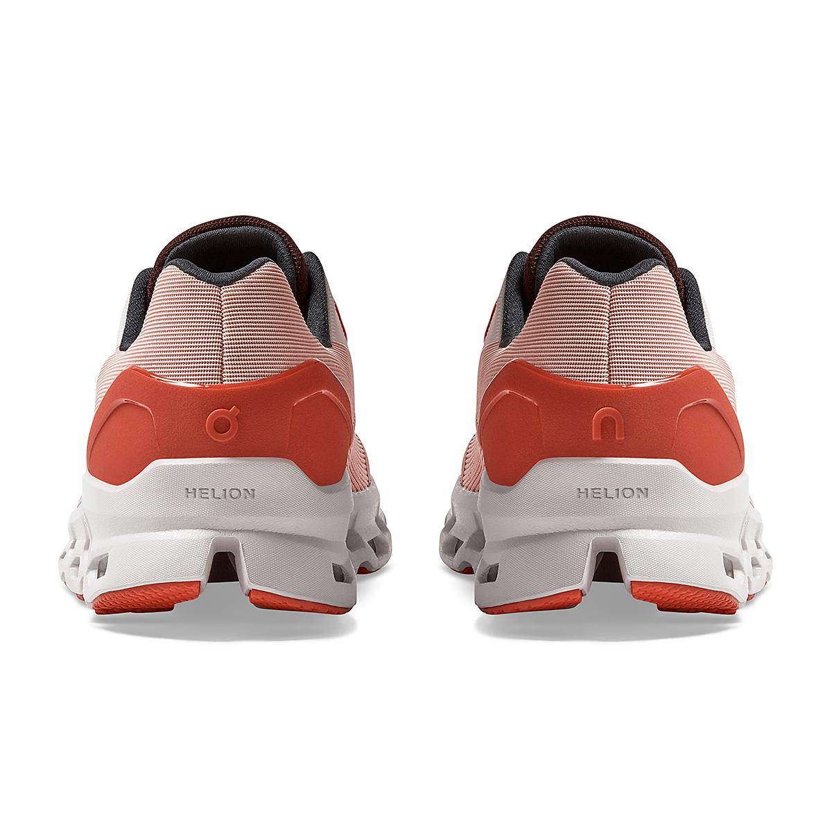 Women's On Cloudstratus 2.0 Running Shoe - Color: Rose/Red - Size: 5 - Width: Regular, Rose/Red, large, image 5