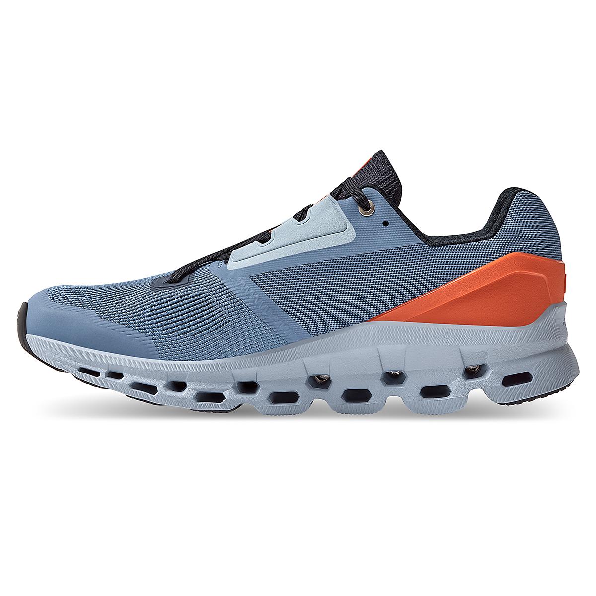 Men's On Cloudstratus 2.0 Running Shoe - Color: Lake/Flare - Size: 7 - Width: Regular, Lake/Flare, large, image 3
