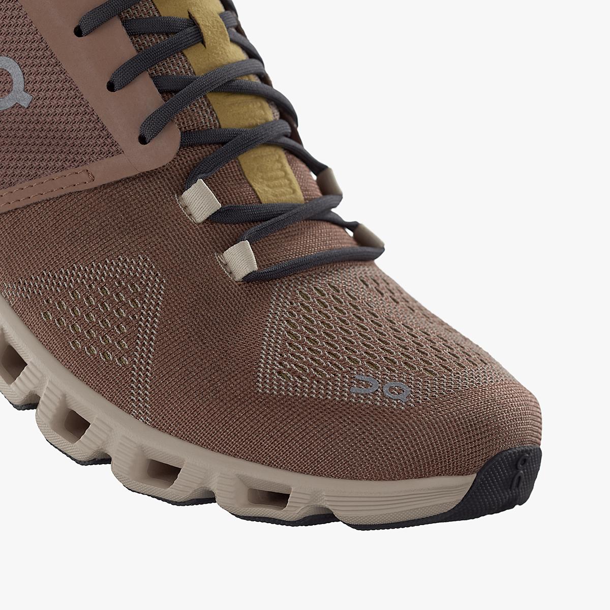 Women's On Cloud X 2.0 Training Shoe - Color: Mocha/Sand - Size: 5 - Width: Regular, Mocha/Sand, large, image 5