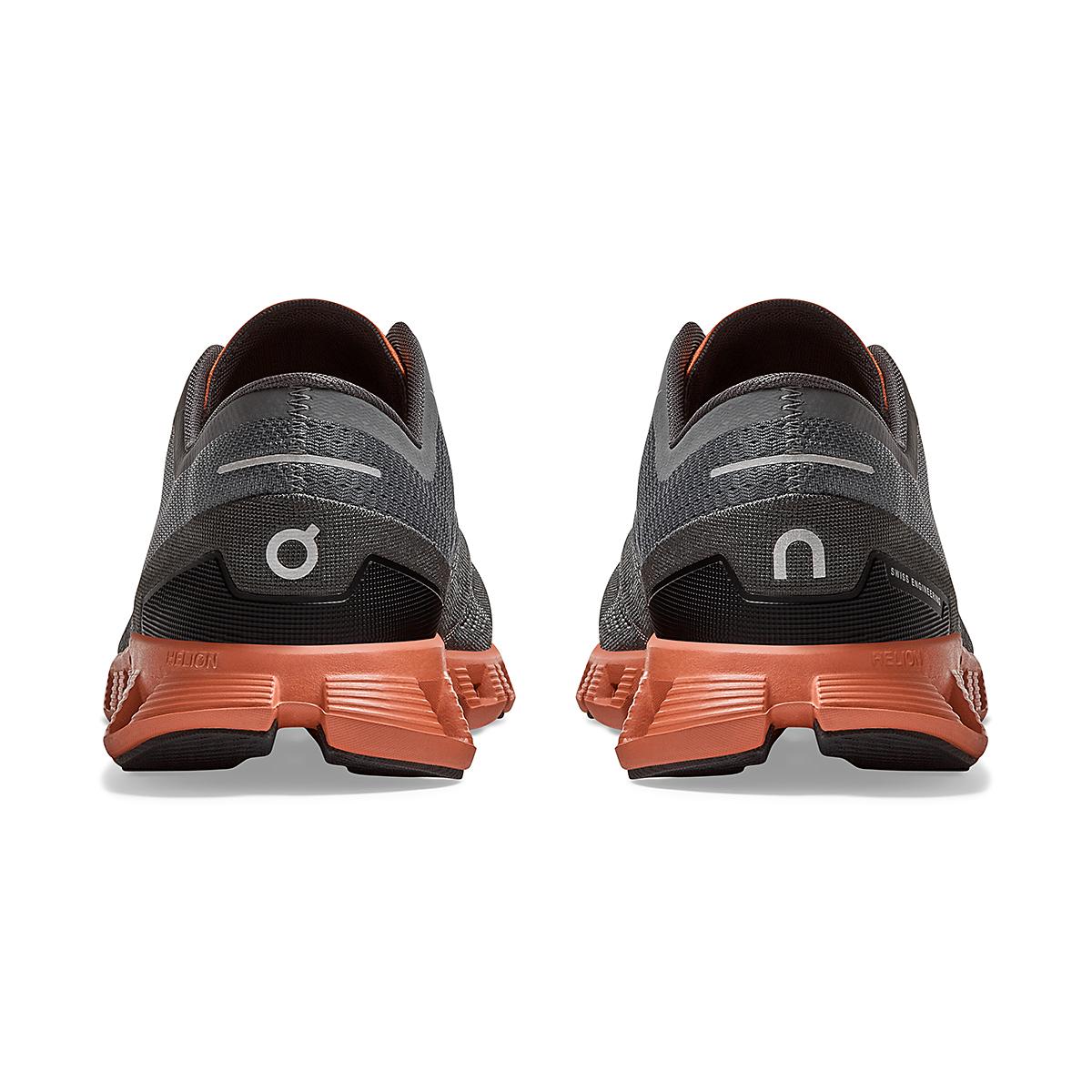 Men's On Cloud X 2.0 Training Shoe - Color: Rust/Rock - Size: 7 - Width: Regular, Rust/Rock, large, image 4