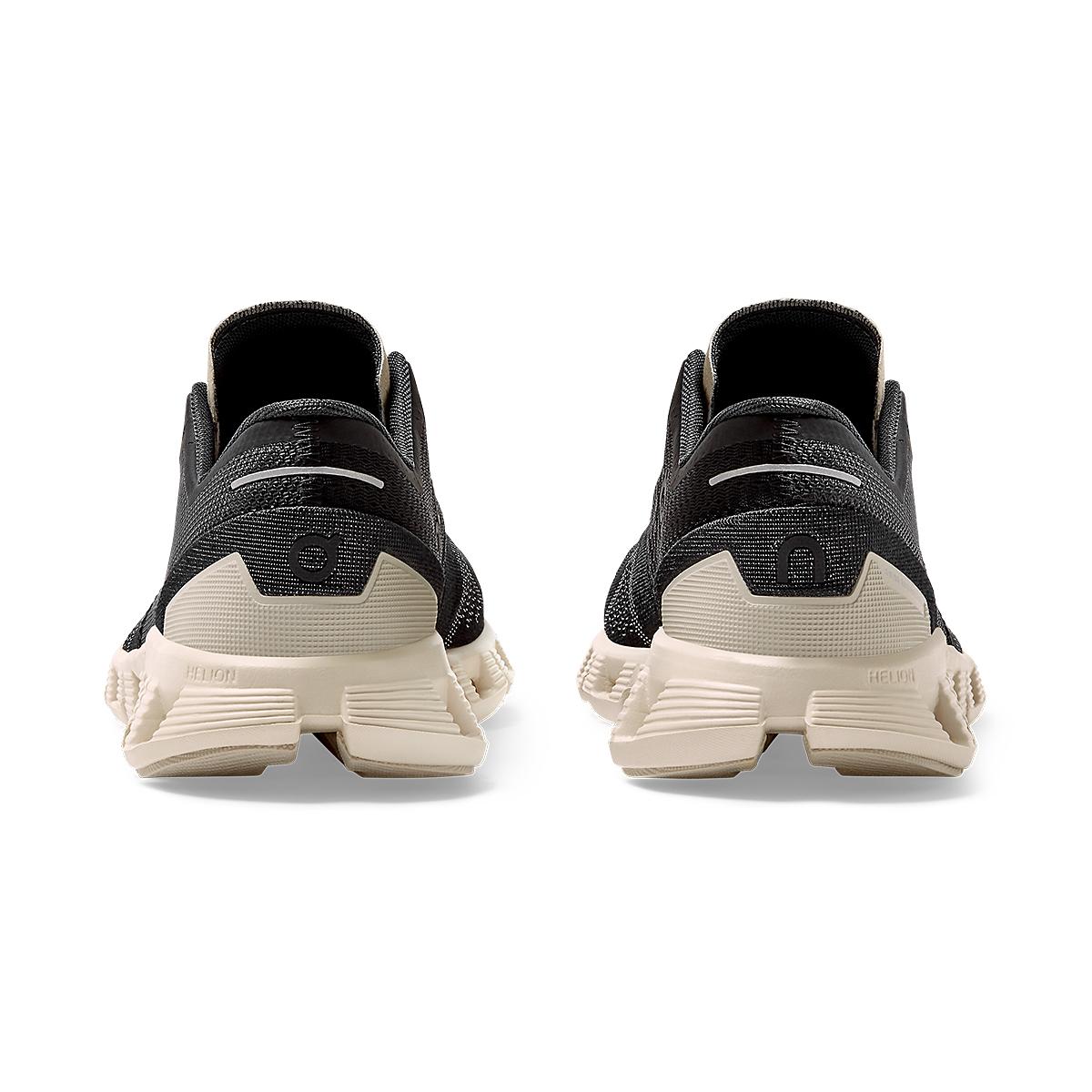 Women's On Cloud X 2.0 Running Shoe - Color: Black/Pearl - Size: 5 - Width: Regular, Black/Pearl, large, image 5