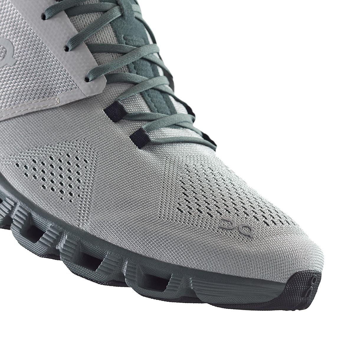 Men's On Cloud X 2.0 Running Shoe - Color: Glacier/Olive - Size: 7 - Width: Regular, Glacier/Olive, large, image 3