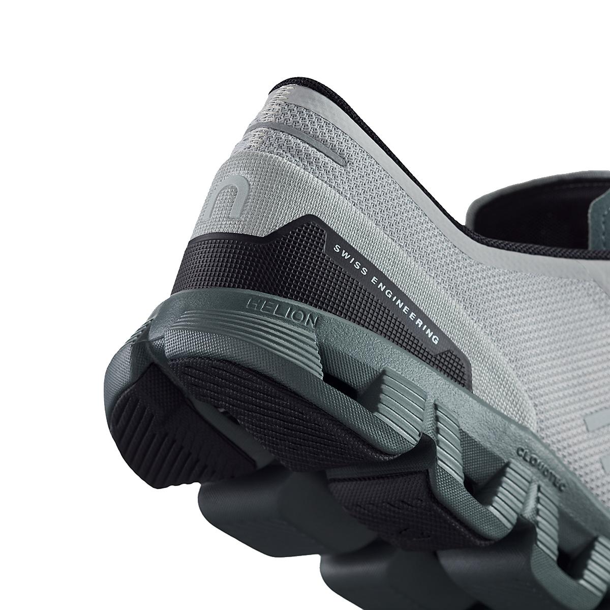 Men's On Cloud X 2.0 Running Shoe - Color: Glacier/Olive - Size: 7 - Width: Regular, Glacier/Olive, large, image 5
