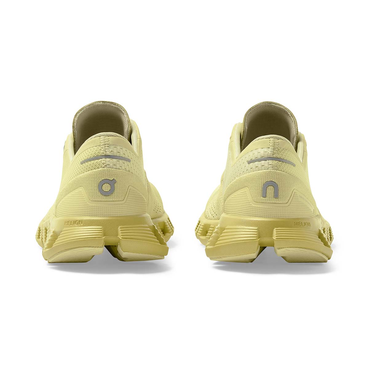 Women's On Cloud X 2.0 Running Shoe - Color: Glade/Citron - Size: 5 - Width: Regular, Glade/Citron, large, image 6