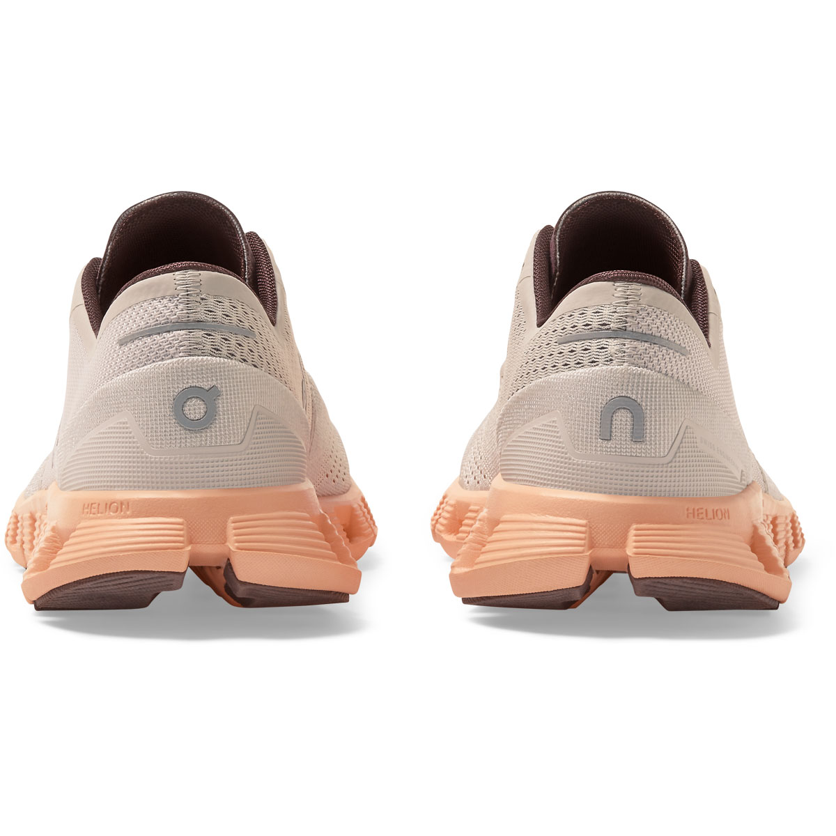 Women's On Cloud X 2.0 Running Shoe - Color: Silver/Almond - Size: 5 - Width: Regular, Silver/Almond, large, image 5