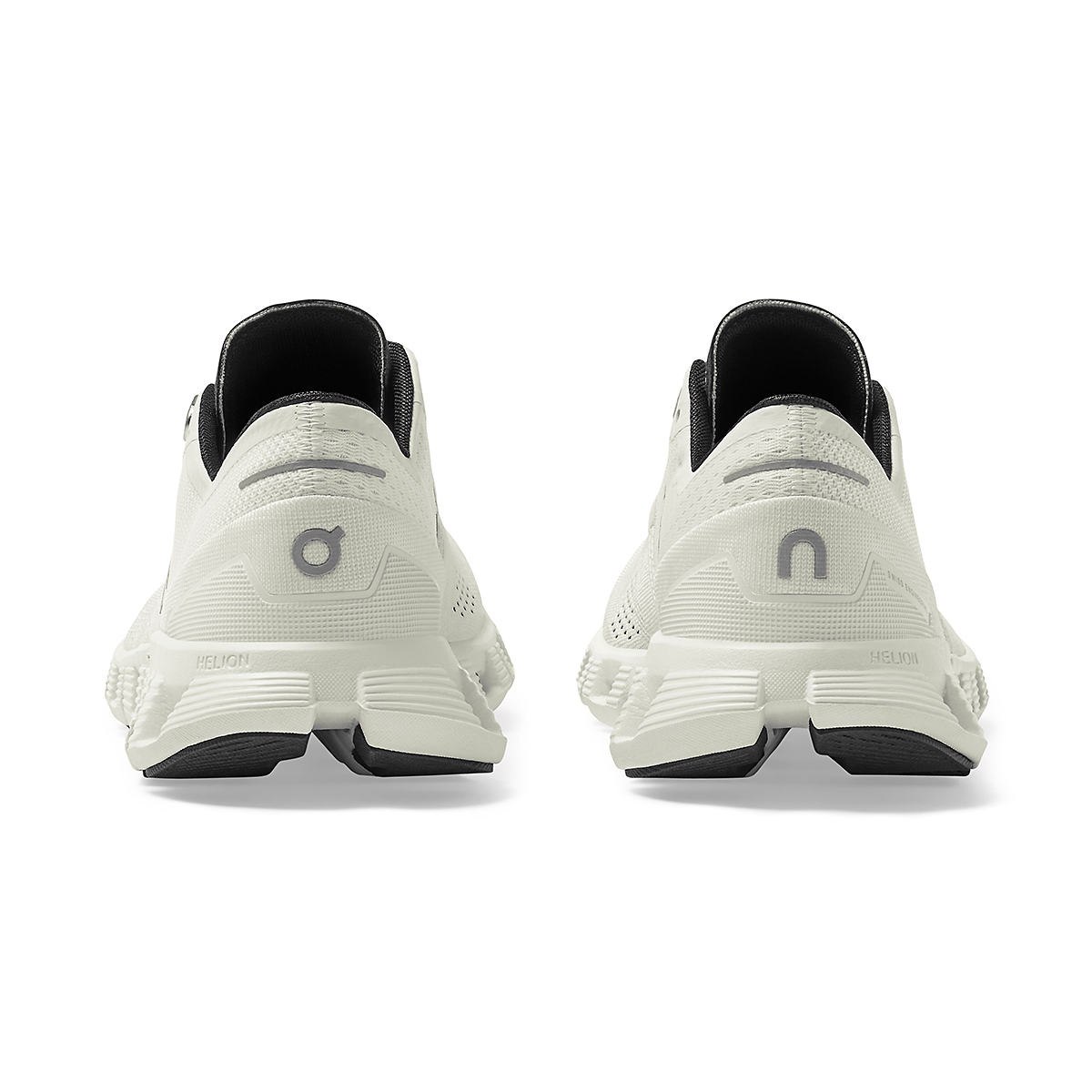 Women's On Cloud X 2.0 Running Shoe - Color: White/Black - Size: 5 - Width: Regular, White/Black, large, image 5