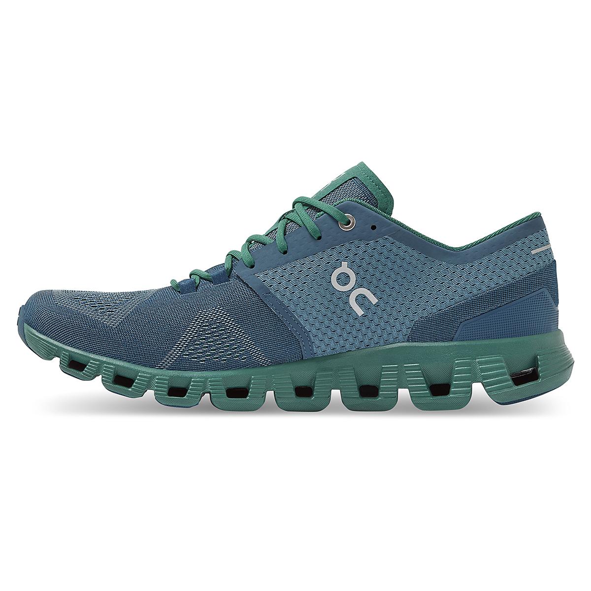 Men's On Cloud X 2.0 Running Shoe - Color: Storm/Tide - Size: 7 - Width: Regular, Storm/Tide, large, image 2