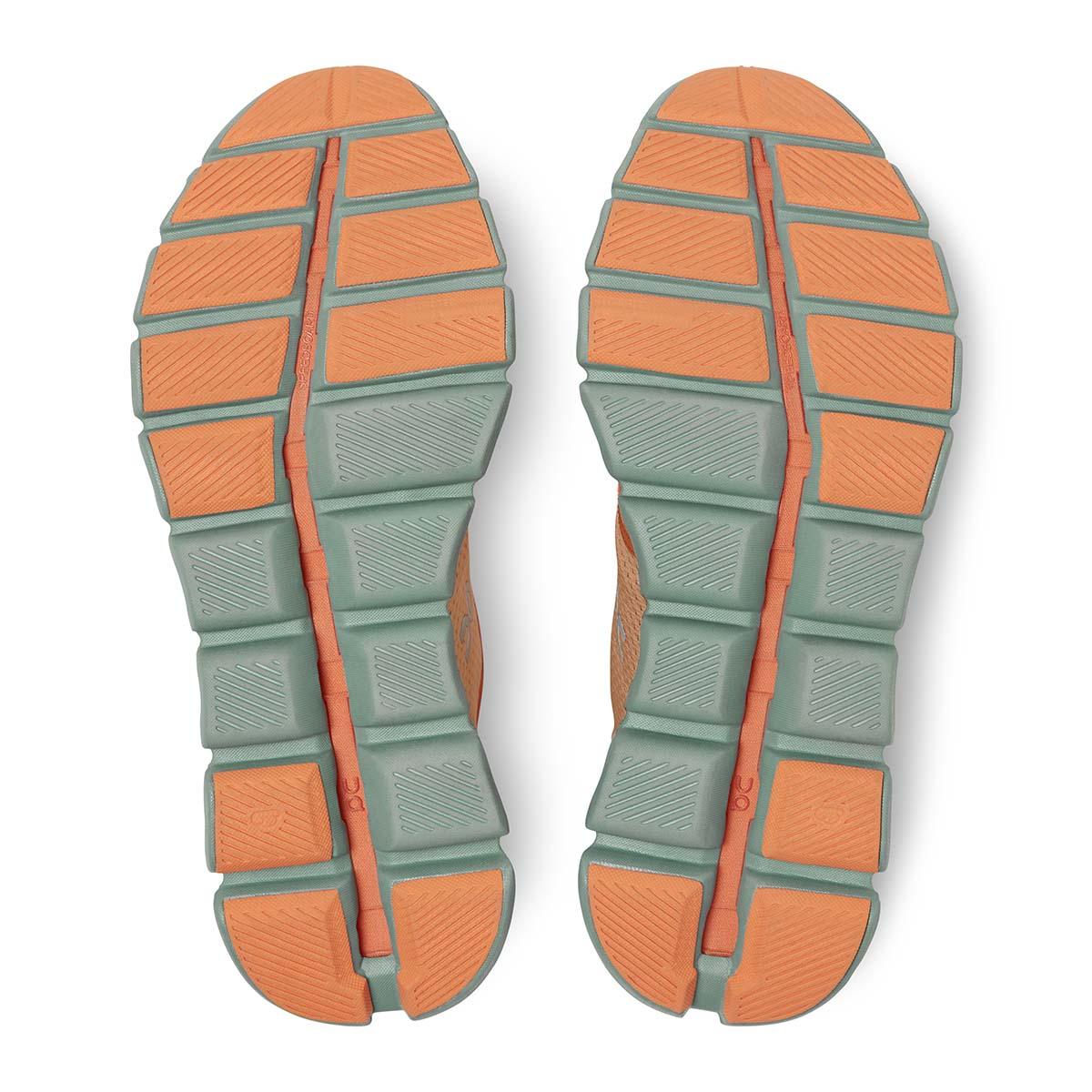 Men's On Cloud X 2.0 Running Shoe - Color: Orange/Sea - Size: 7 - Width: Regular, Orange/Sea, large, image 5