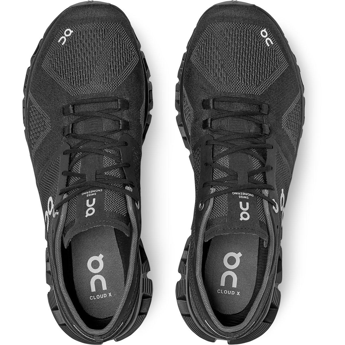 Men's On Cloud X 2.0 Running Shoe - Color: Black/Asphalt - Size: 7 - Width: Regular, Black/Asphalt, large, image 4