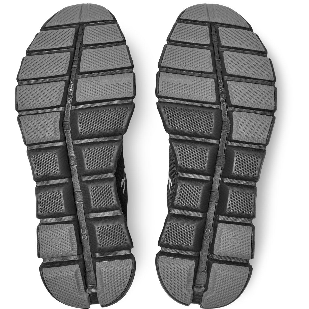 Men's On Cloud X 2.0 Running Shoe - Color: Black/Asphalt - Size: 7 - Width: Regular, Black/Asphalt, large, image 6