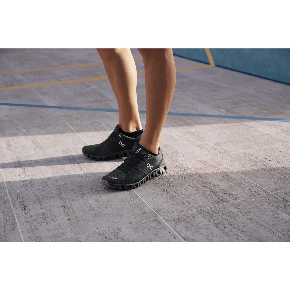 Men's On Cloud X 2.0 Running Shoe - Color: Black/Asphalt - Size: 7 - Width: Regular, Black/Asphalt, large, image 7