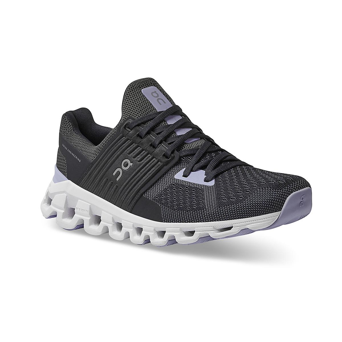 Women's On Cloudswift 2.0 Running Shoe - Color: Magnet/Lavender - Size: 5 - Width: Regular, Magnet/Lavender, large, image 3