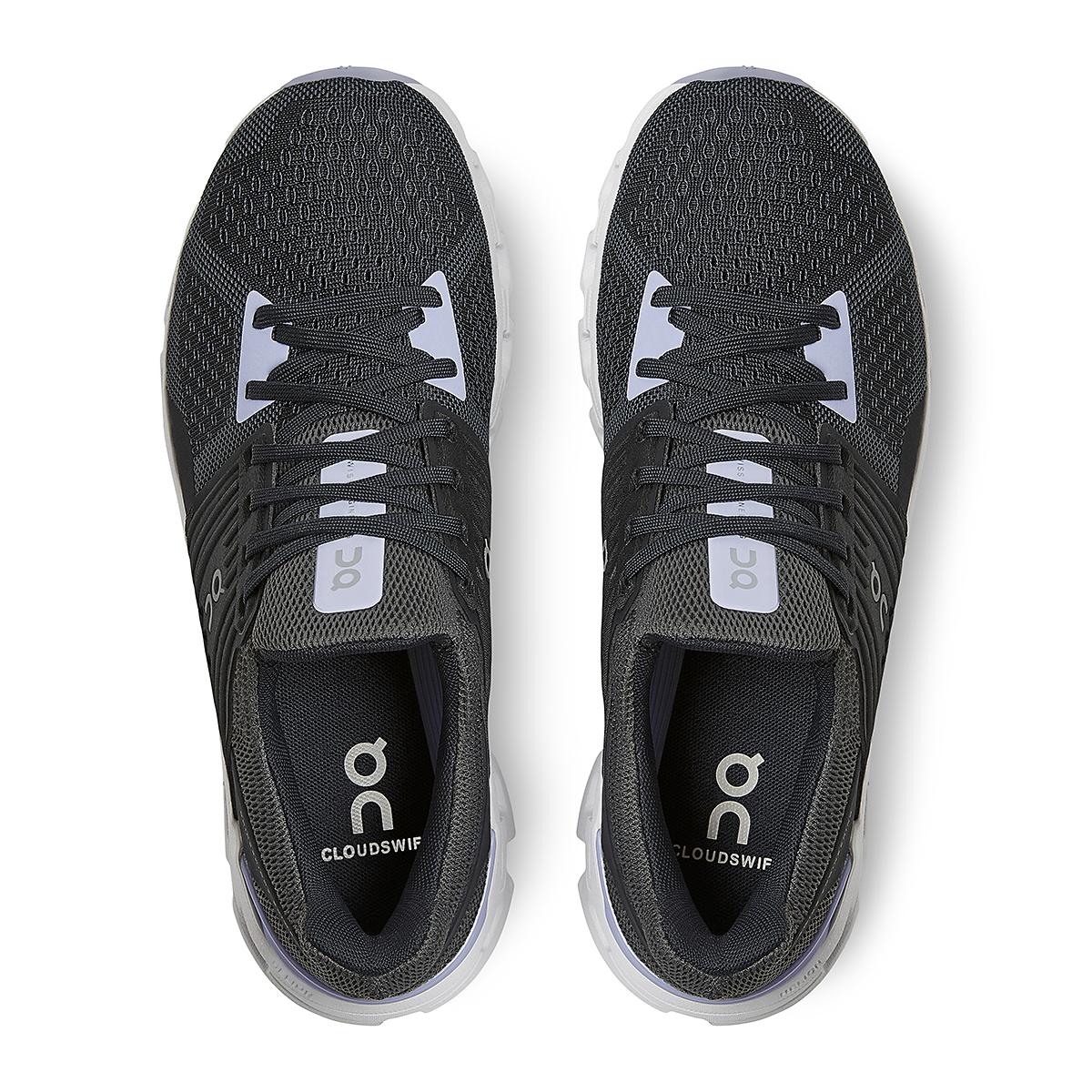 Women's On Cloudswift 2.0 Running Shoe - Color: Magnet/Lavender - Size: 5 - Width: Regular, Magnet/Lavender, large, image 4