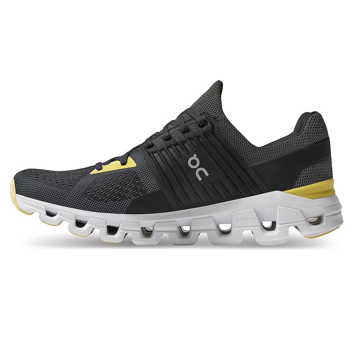Men's On Cloudswift 2.0 Running Shoe - Color: Magnet/Citron - Size: 7 - Width: Regular, Magnet/Citron, large, image 2