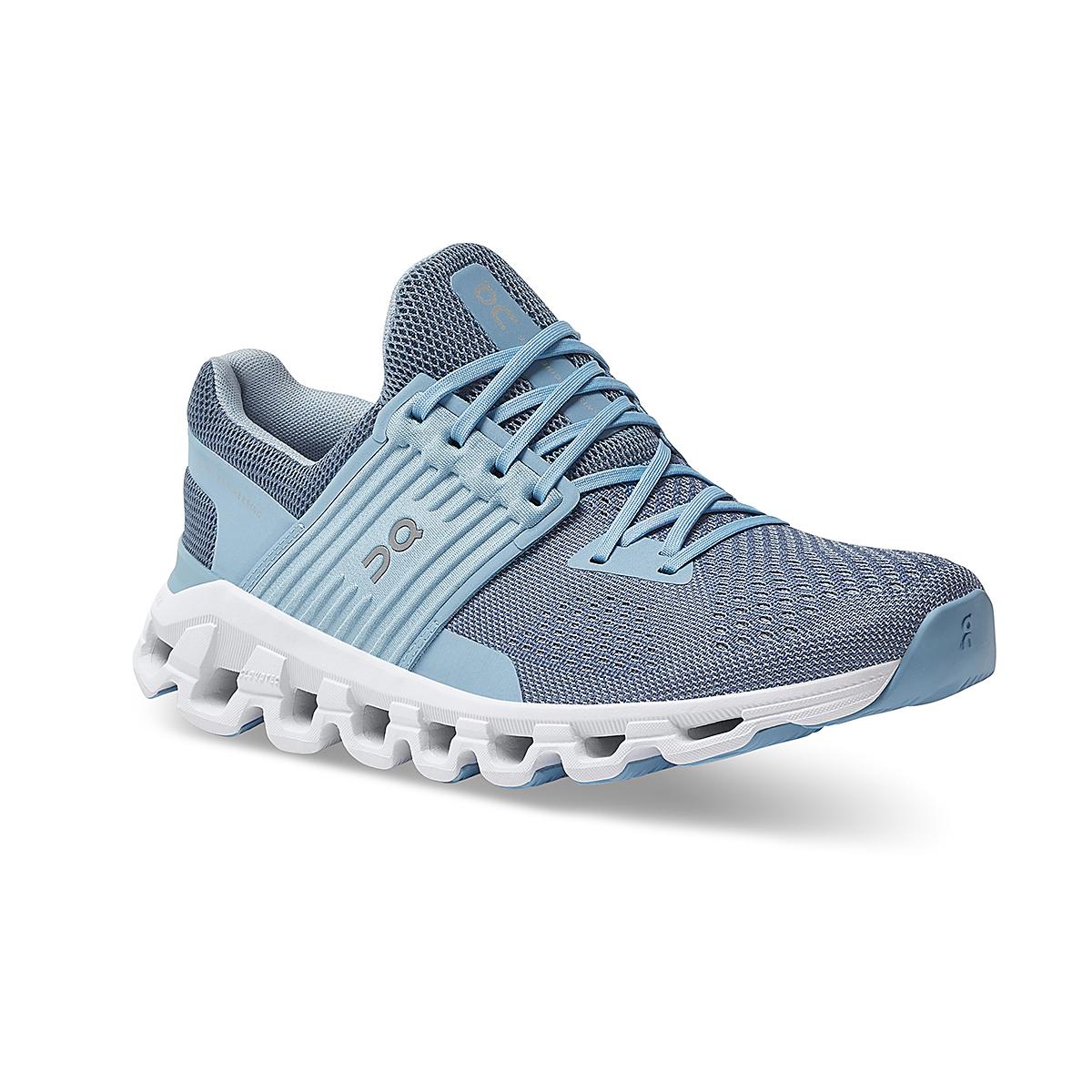 Women's On Cloudswift 2.0 Running Shoe - Color: Lake/Sky - Size: 5 - Width: Regular, Lake/Sky, large, image 2