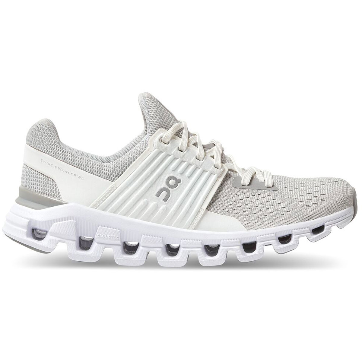 Women's On Cloudswift 2.0 Running Shoe - Color: Glacier/White - Size: 5 - Width: Regular, Glacier/White, large, image 1