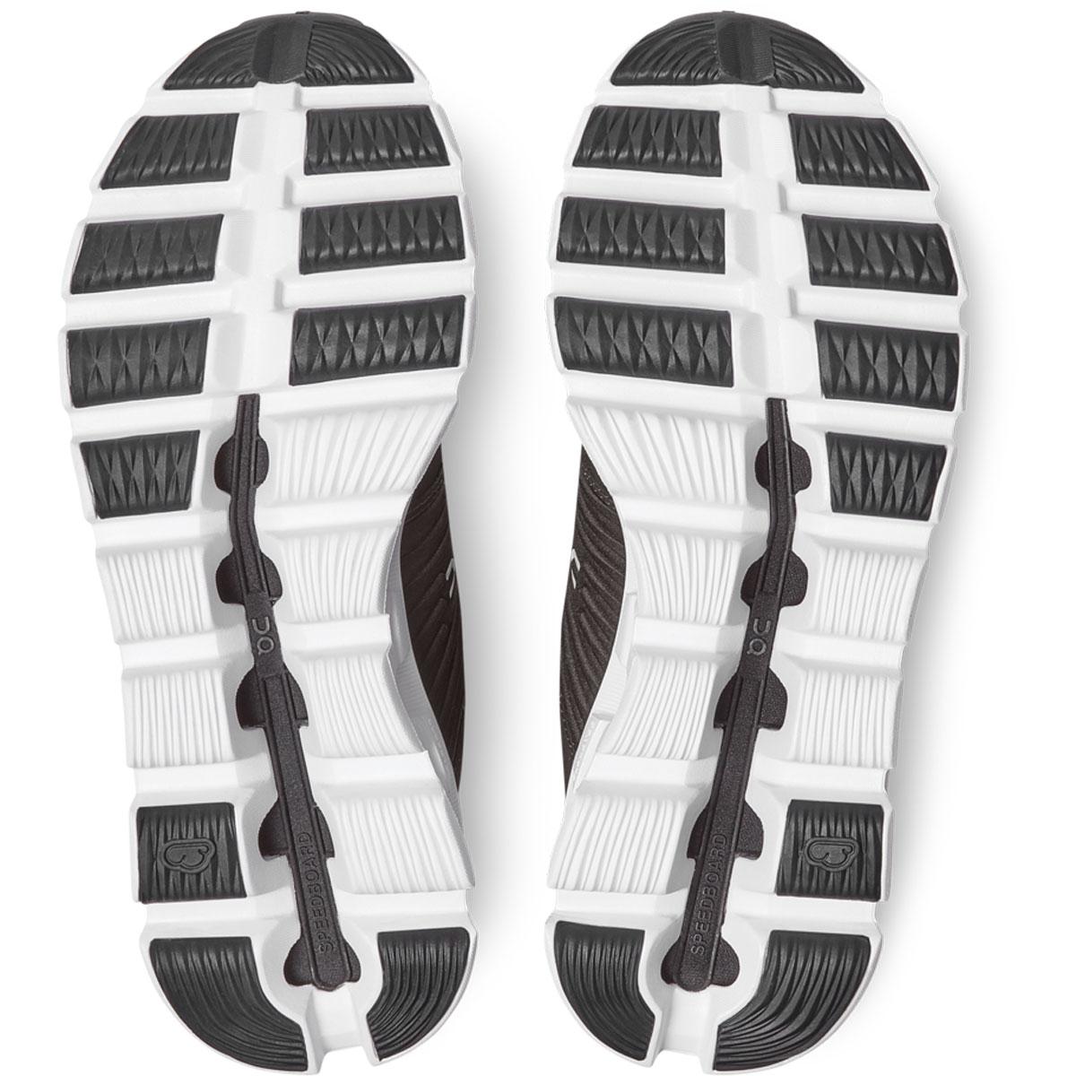 Women's On Cloudswift 2.0 Running Shoe - Color: Black/Rock - Size: 5 - Width: Regular, Black/Rock, large, image 5
