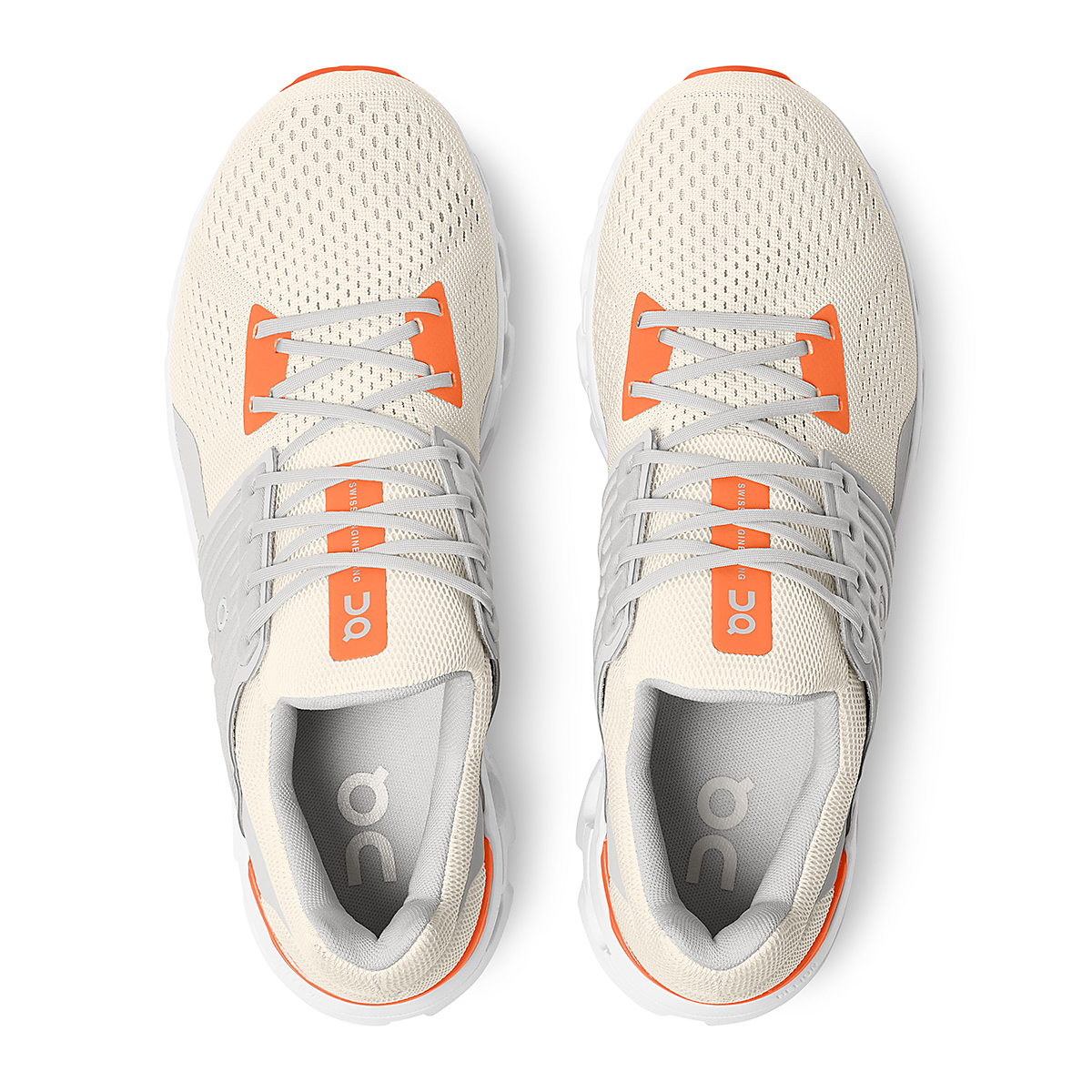 Men's On Cloudswift 2.0 Running Shoe - Color: White | Flame - Size: 7 - Width: Regular, White | Flame, large, image 5