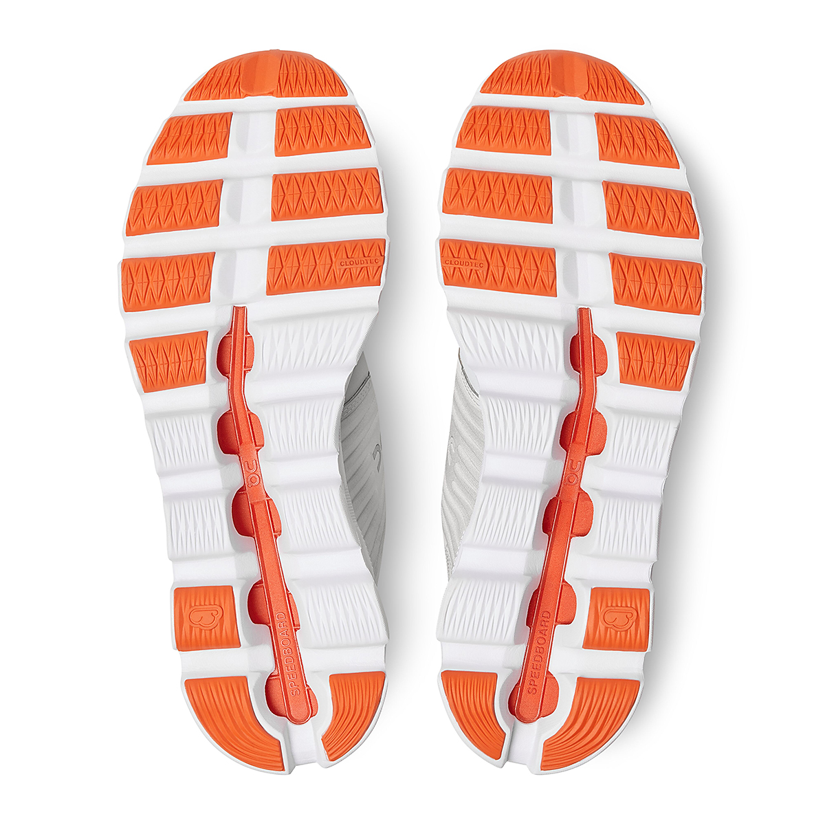 Men's On Cloudswift 2.0 Running Shoe - Color: White | Flame - Size: 7 - Width: Regular, White | Flame, large, image 6