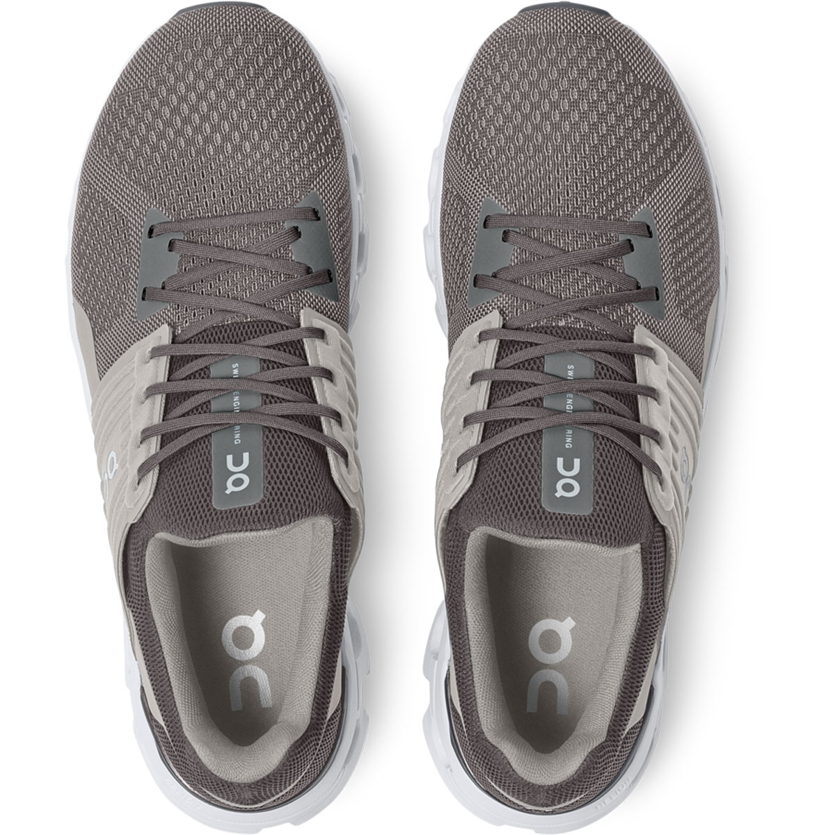 Men's On Cloudswift 2.0 Running Shoe - Color: Rock/Slate - Size: 7 - Width: Regular, Rock/Slate, large, image 4