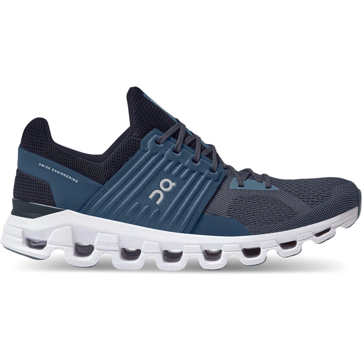 Men's On Cloudswift 2.0 Running Shoe - Color: Denim/Midnight - Size: 7 - Width: Regular, Denim/Midnight, large, image 1