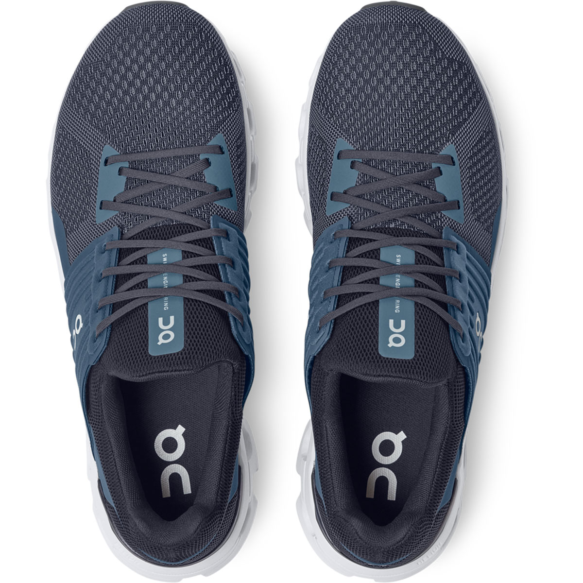 Men's On Cloudswift 2.0 Running Shoe - Color: Denim/Midnight - Size: 7 - Width: Regular, Denim/Midnight, large, image 3