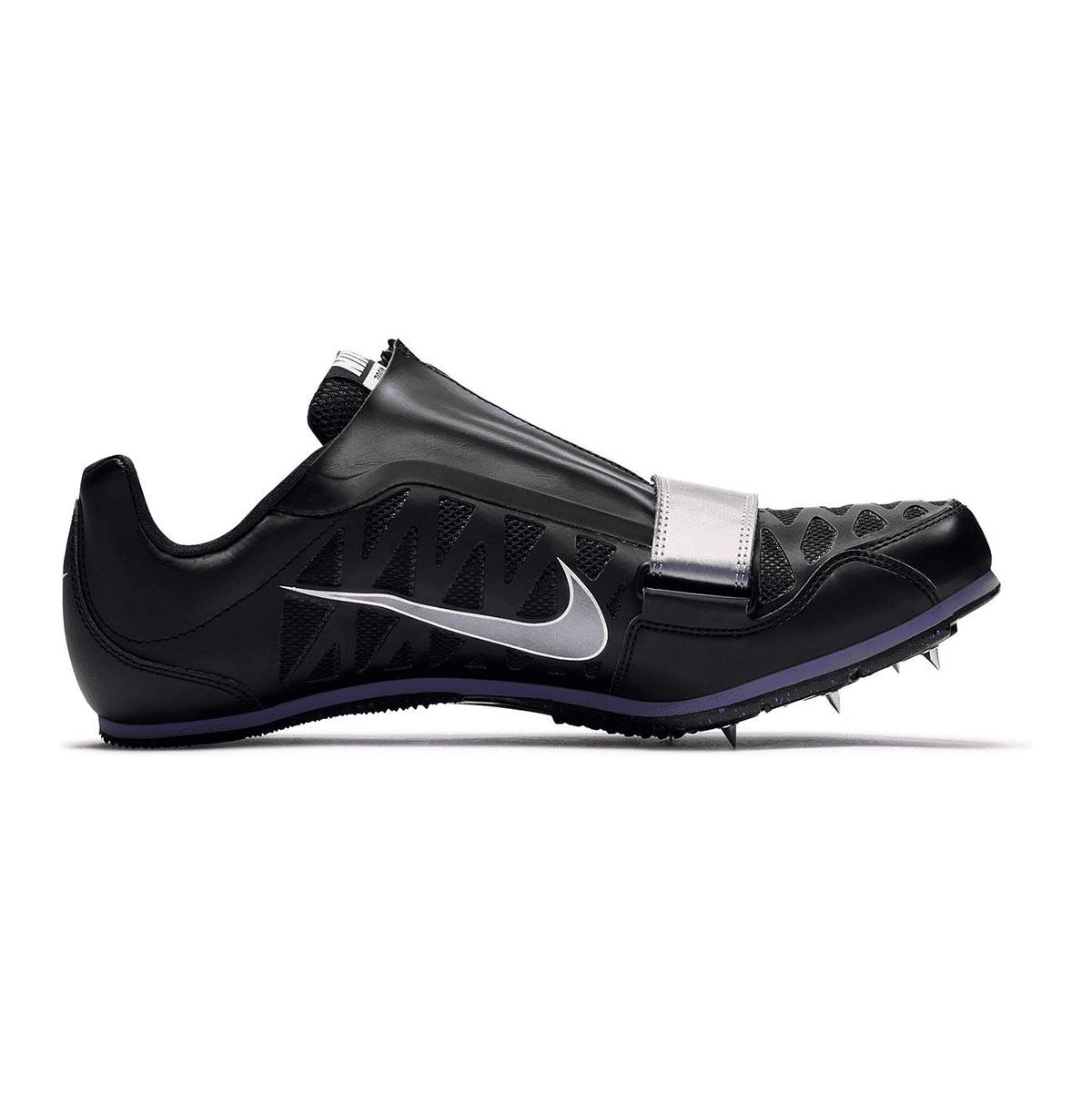 Nike Zoom Long Jump 4 Track Spikes - Color: Black/Indigo Fog/White/Steller Indigo - Size: 4 - Width: Regular, Black/Indigo Fog/White/Steller Indigo, large, image 1