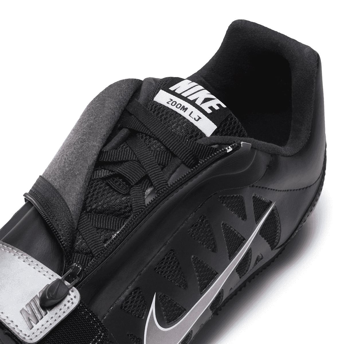 Nike Zoom Long Jump 4 Track Spikes - Color: Black/Indigo Fog/White/Steller Indigo - Size: 4 - Width: Regular, Black/Indigo Fog/White/Steller Indigo, large, image 4