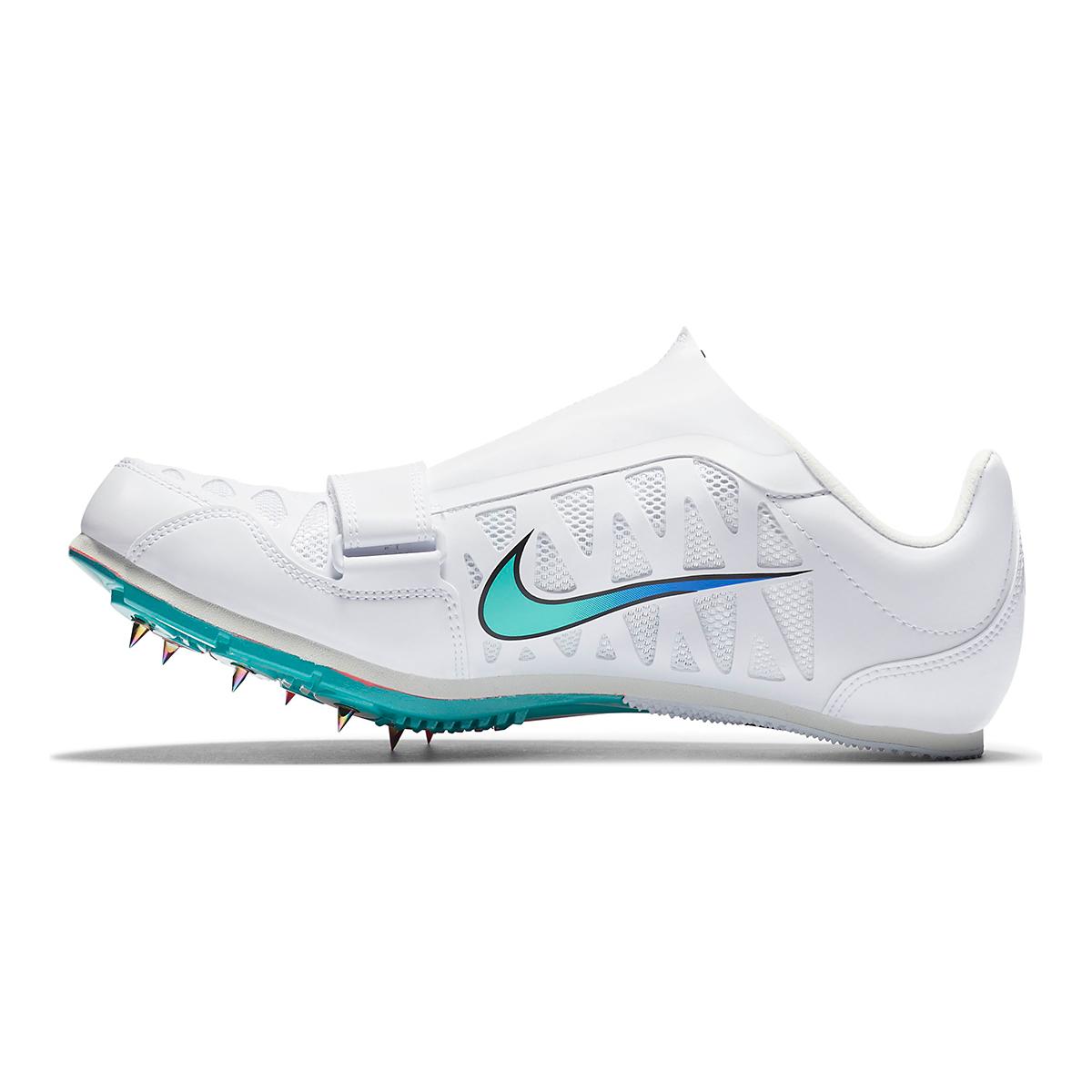 Nike Zoom Long Jump 4 Track Spikes - Color: White/Flash Crimson - Size: M4/W5.5 - Width: Regular, White/Flash Crimson, large, image 2