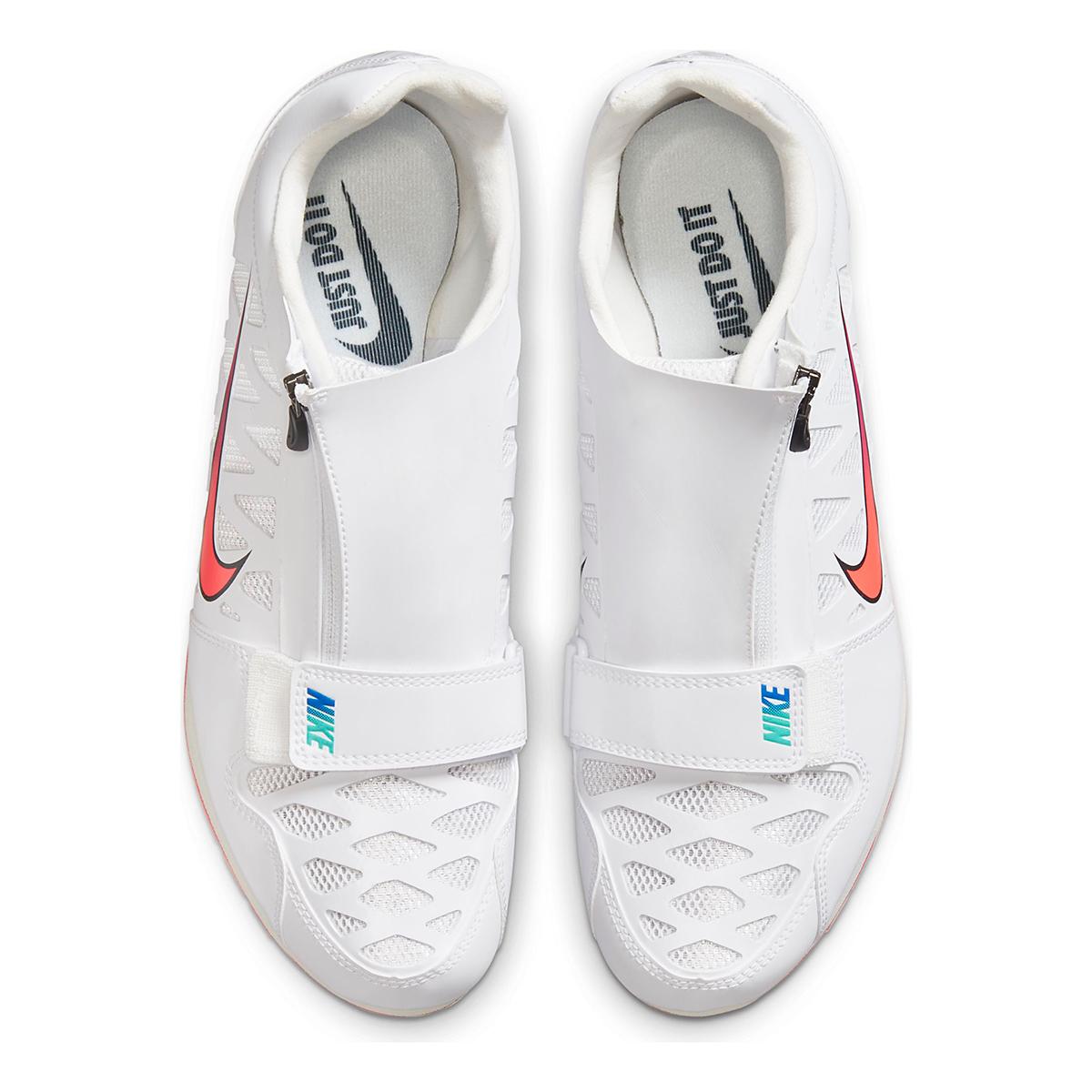 Nike Zoom Long Jump 4 Track Spikes - Color: White/Flash Crimson - Size: M4/W5.5 - Width: Regular, White/Flash Crimson, large, image 6