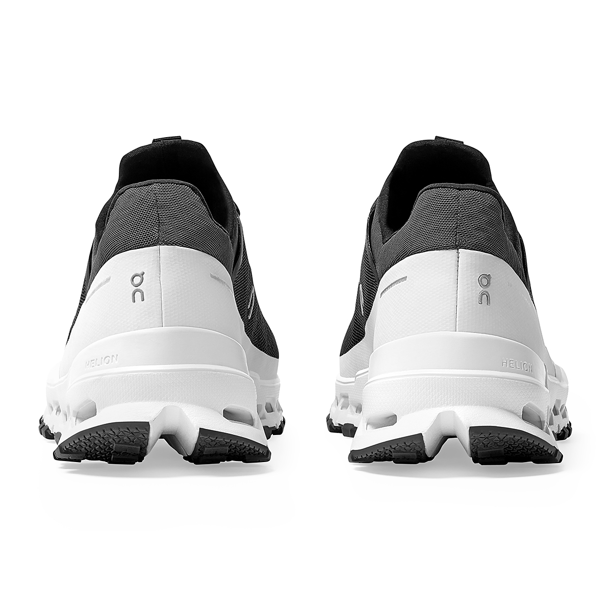 Men's On Cloudultra Trail-Running Shoes - Color: Black/White - Size: 7 - Width: Regular, Black/White, large, image 5