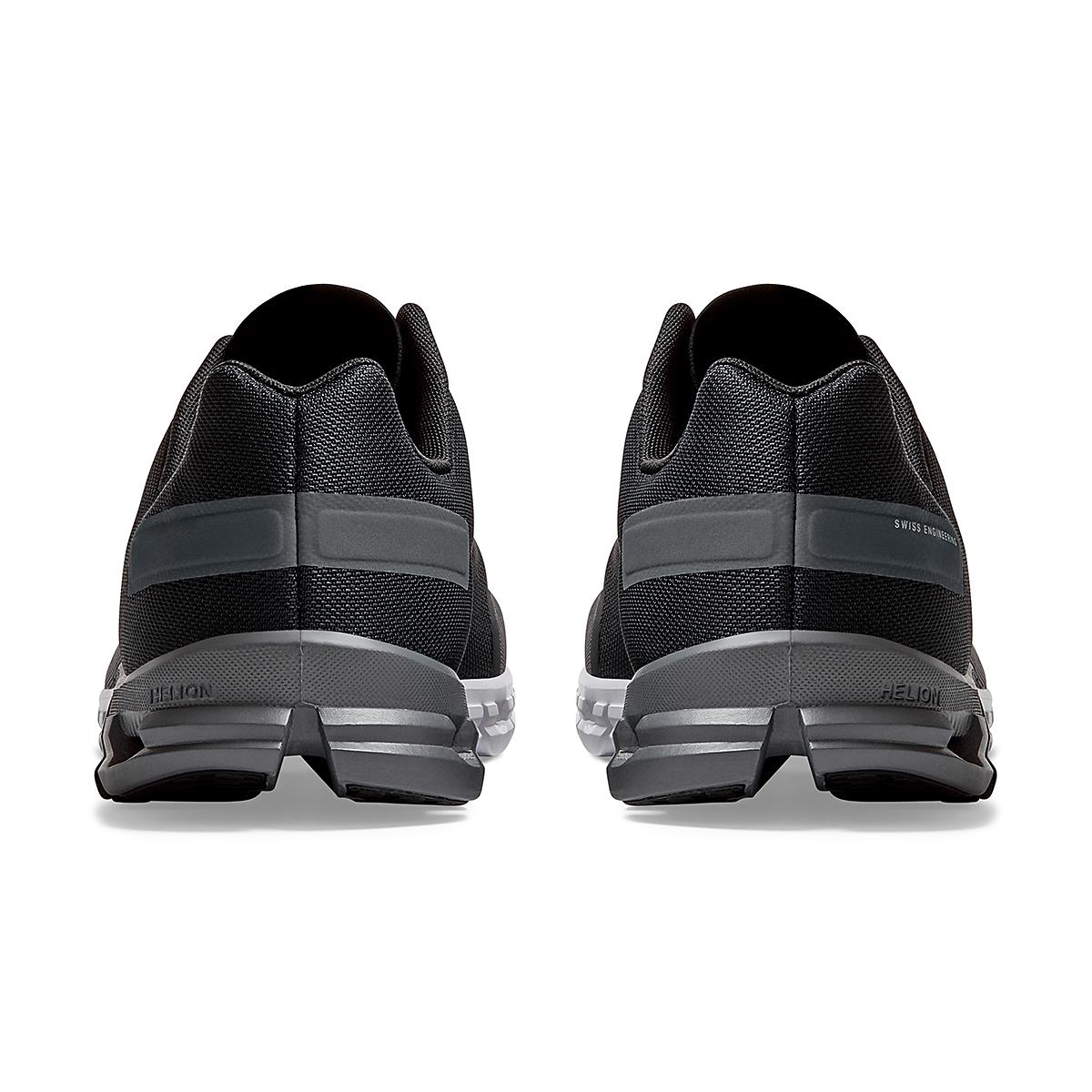 Men's On Cloudflow 3.0 Running Shoe - Color: Black/Asphalt - Size: 7 - Width: Regular, Black/Asphalt, large, image 5