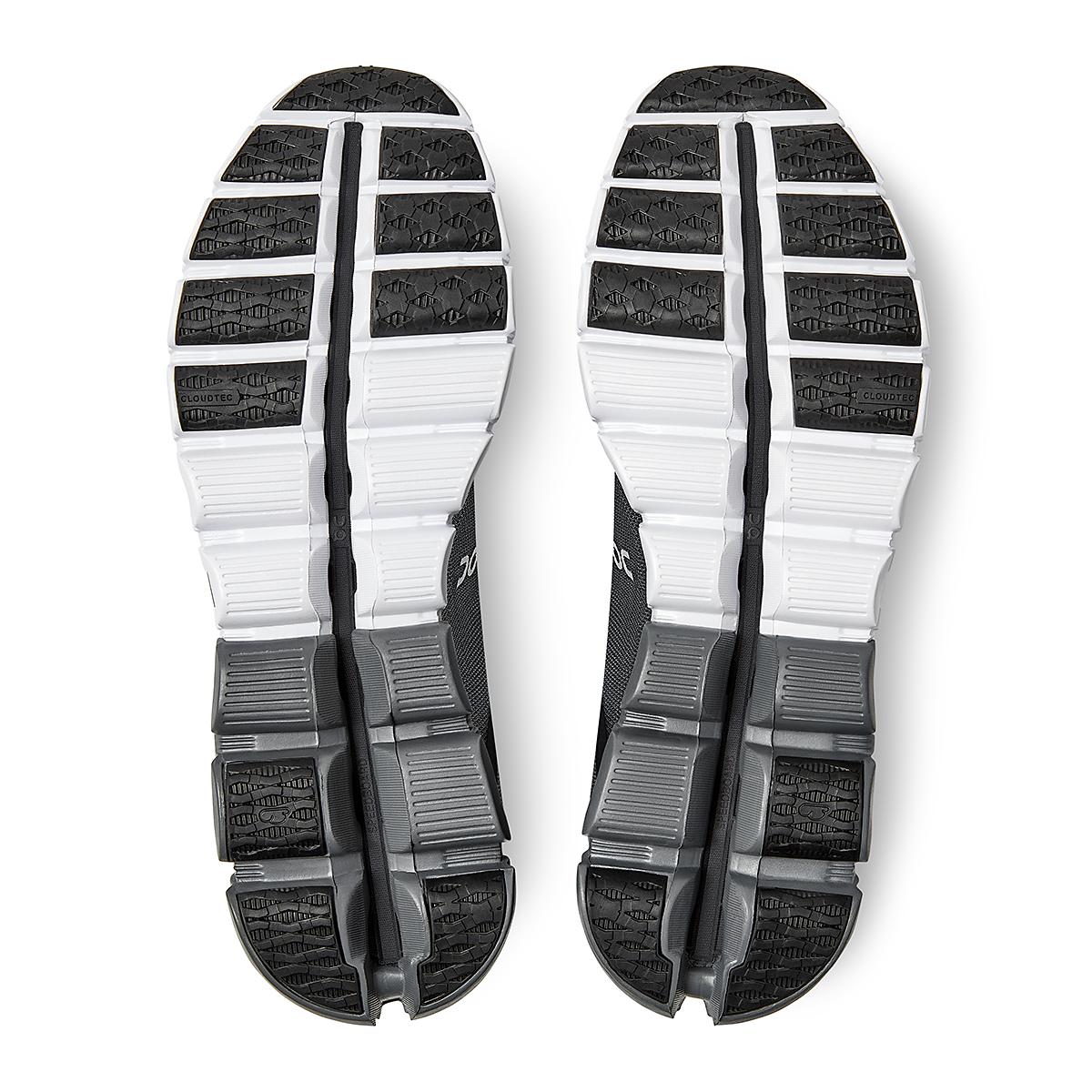 Men's On Cloudflow 3.0 Running Shoe - Color: Black/Asphalt - Size: 7 - Width: Regular, Black/Asphalt, large, image 6