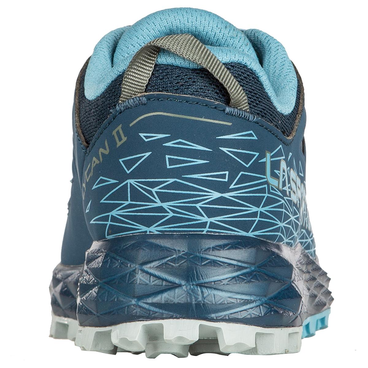 Women's La Sportiva Lycan II Trail Running Shoe - Color: Opal/Pacific Blue - Size: 6.5 - Width: Regular, Opal/Pacific Blue, large, image 4