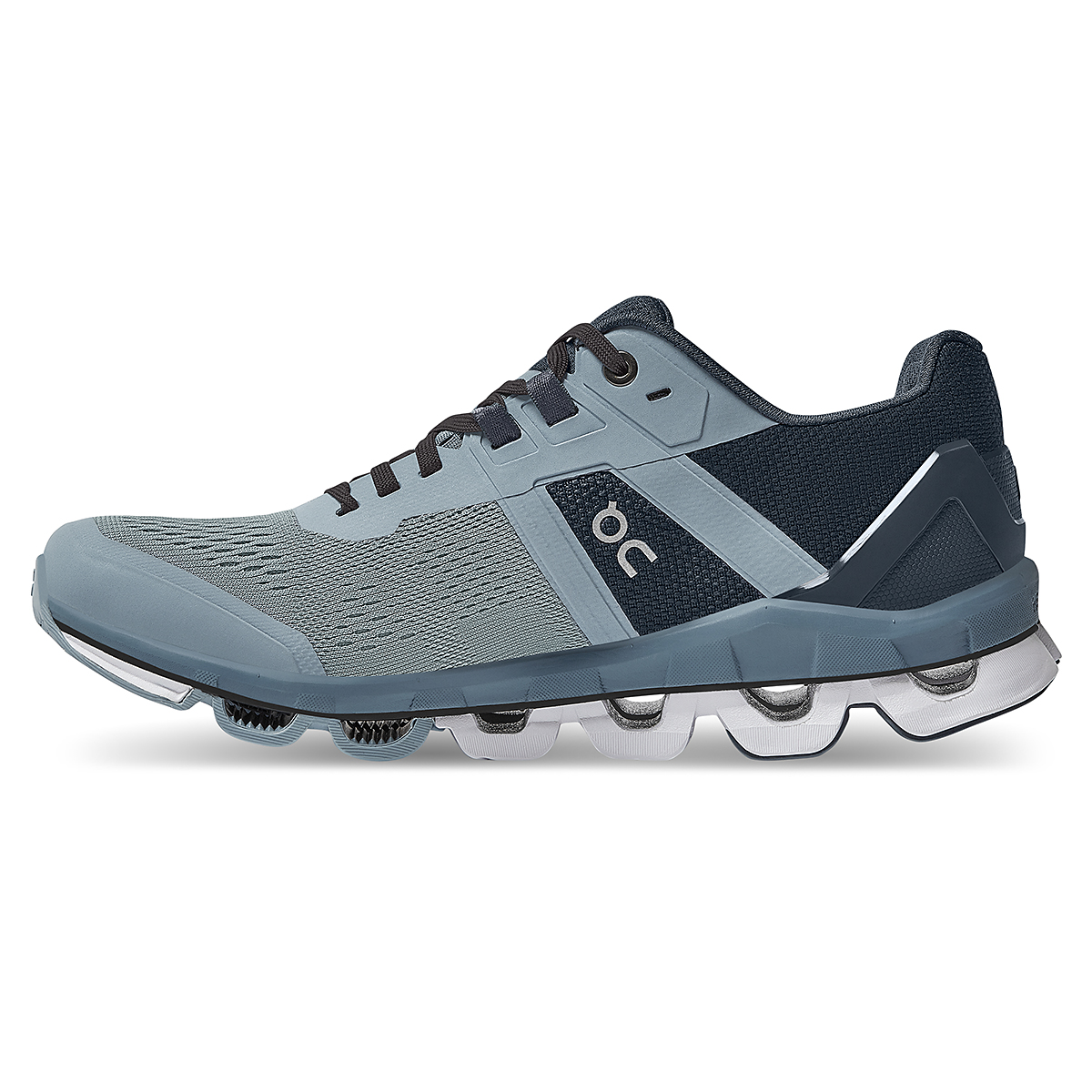 Women's On Cloudace Running Shoe - Color: Wash   Navy - Size: 6.5 - Width: Regular, Wash   Navy, large, image 2