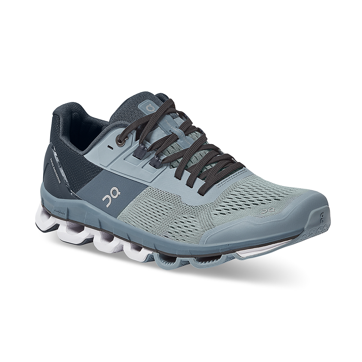 Women's On Cloudace Running Shoe - Color: Wash   Navy - Size: 6.5 - Width: Regular, Wash   Navy, large, image 3