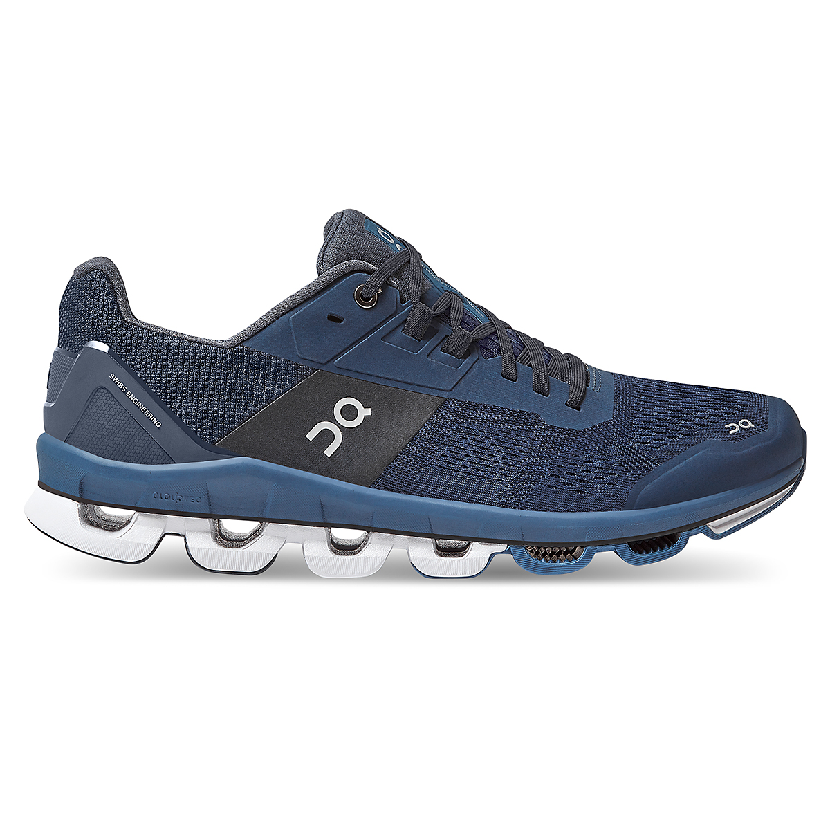 Men's On Cloudace Running Shoe - Color: Midnight   Navy - Size: 8 - Width: Regular, Midnight   Navy, large, image 1
