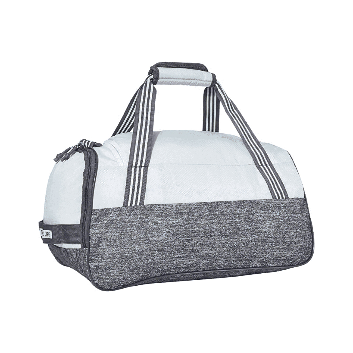 Adidas Squad LV Duffle Bag - Color: Sky Tint Blue/Jersey Onix - Size: One Size, Sky Tint Blue/Jersey Onix, large, image 2