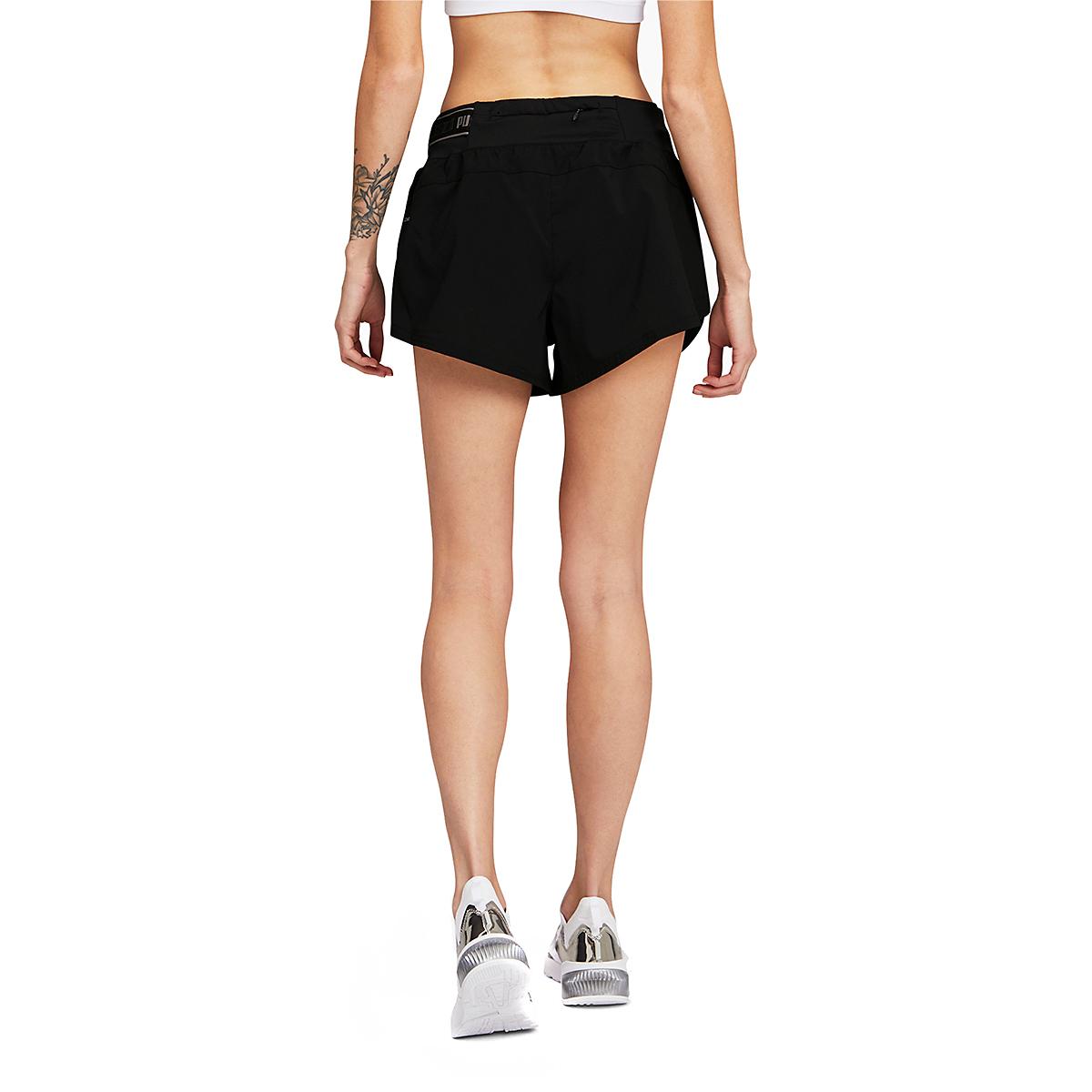 "Women's Puma COOLadapt 3"" Running Shorts - Color: Puma Black - Size: XS, Puma Black, large, image 2"