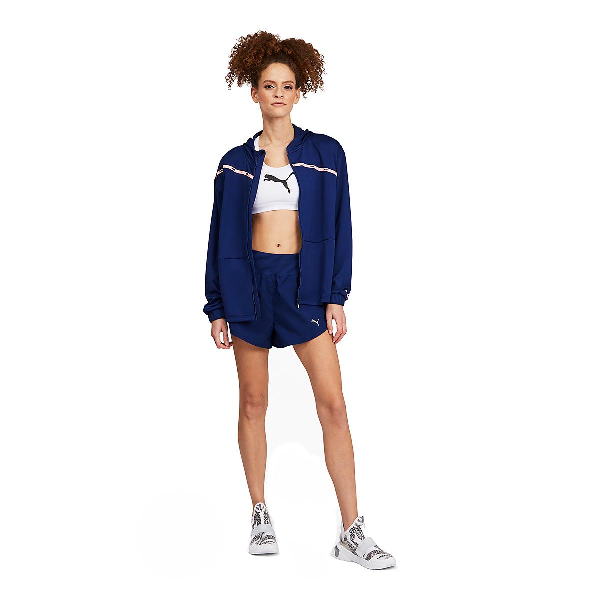 """Women's Puma COOLadapt 3"""" Running Shorts - Color: Elektro Blue - Size: XS, Elektro Blue, large, image 3"""