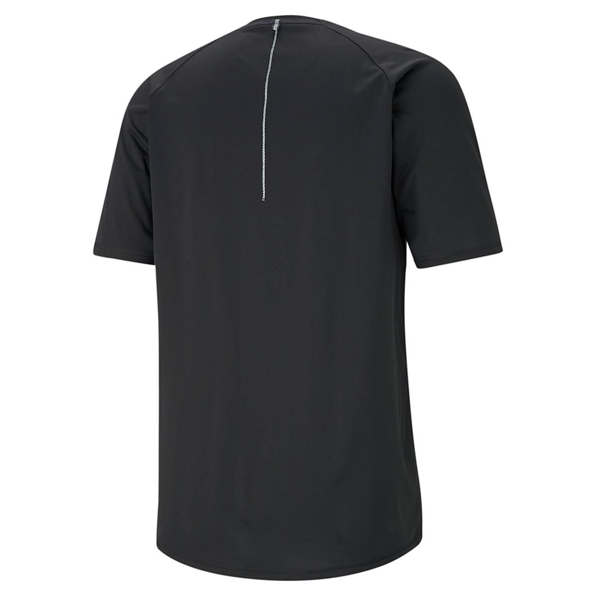 Men's Puma Run Lite COOLadapt Short Sleeve Tee, , large, image 3