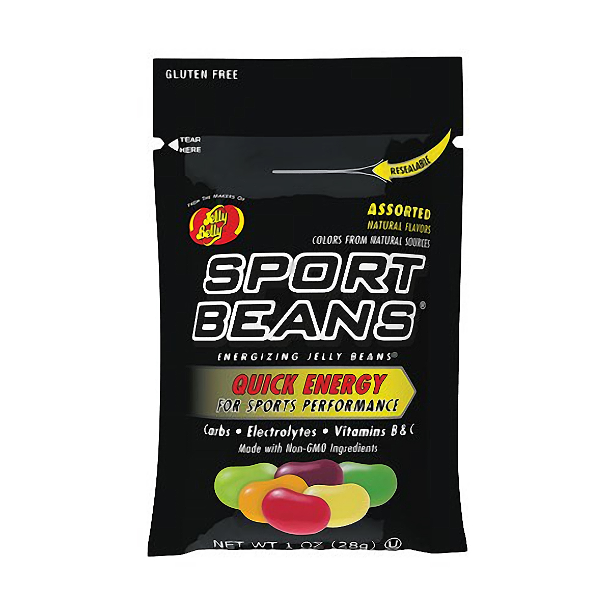 Jelly Belly Sport Beans - Flavor: Assorted Flavors - Size: Box of 24, Assorted Flavors, large, image 1