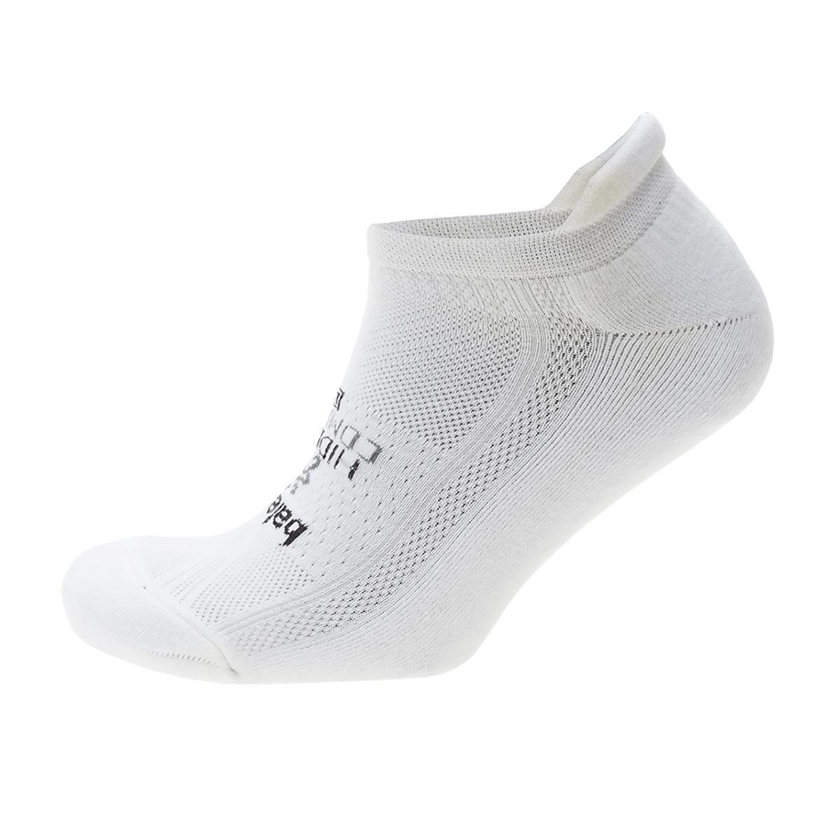 Balega Hidden Comfort Sock - Color: White Size: L