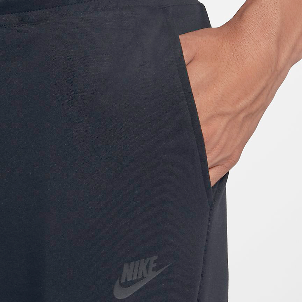 Men's Nike Tech Fleece Jogger - Color: Black - Size: L, Black, large, image 4