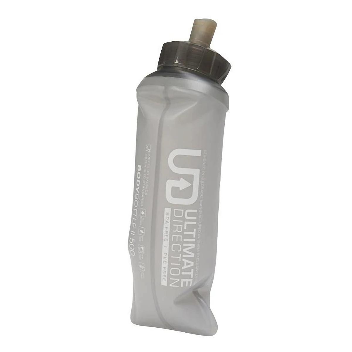 Ultimate Direction Body Bottle II 500 - Color: - Size: OS, Grey, large, image 2