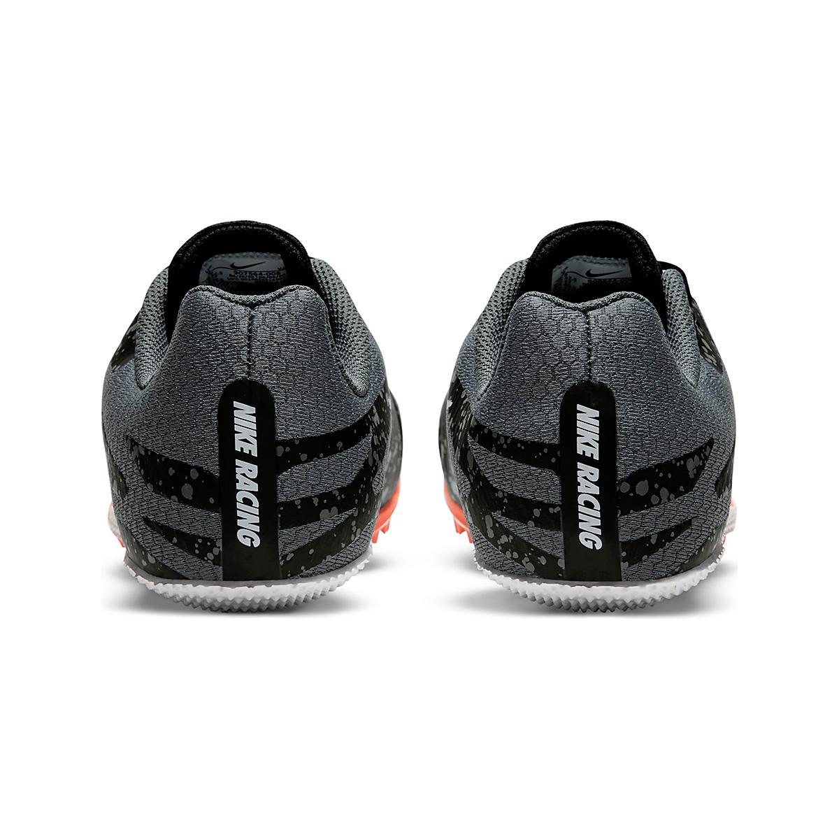 Men's Nike Zoom Rival S 9 Track Spikes - Color: Black/White/Orange - Size: 4 - Width: Regular, Black/White/Orange, large, image 5