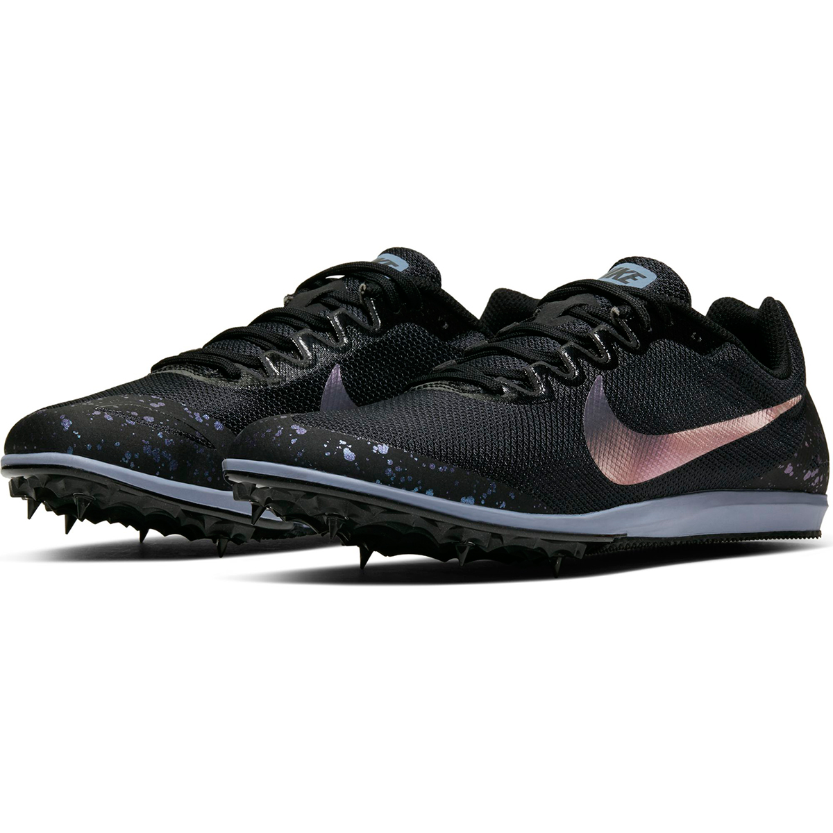 Nike Zoom Rival D 10 Track Spike - Color: Black/Indigo Fog (Regular Width) - Size: 6, Black/Indigo Fog, large, image 4