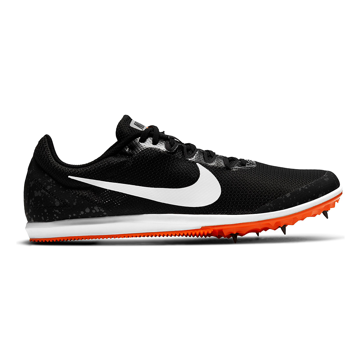 Nike Zoom Rival D 10 Track Spikes - Color: Black/White/Iron Grey/Hyper Crimson - Size: M4/W5.5 - Width: Regular, Black/White/Iron Grey/Hyper Crimson, large, image 1