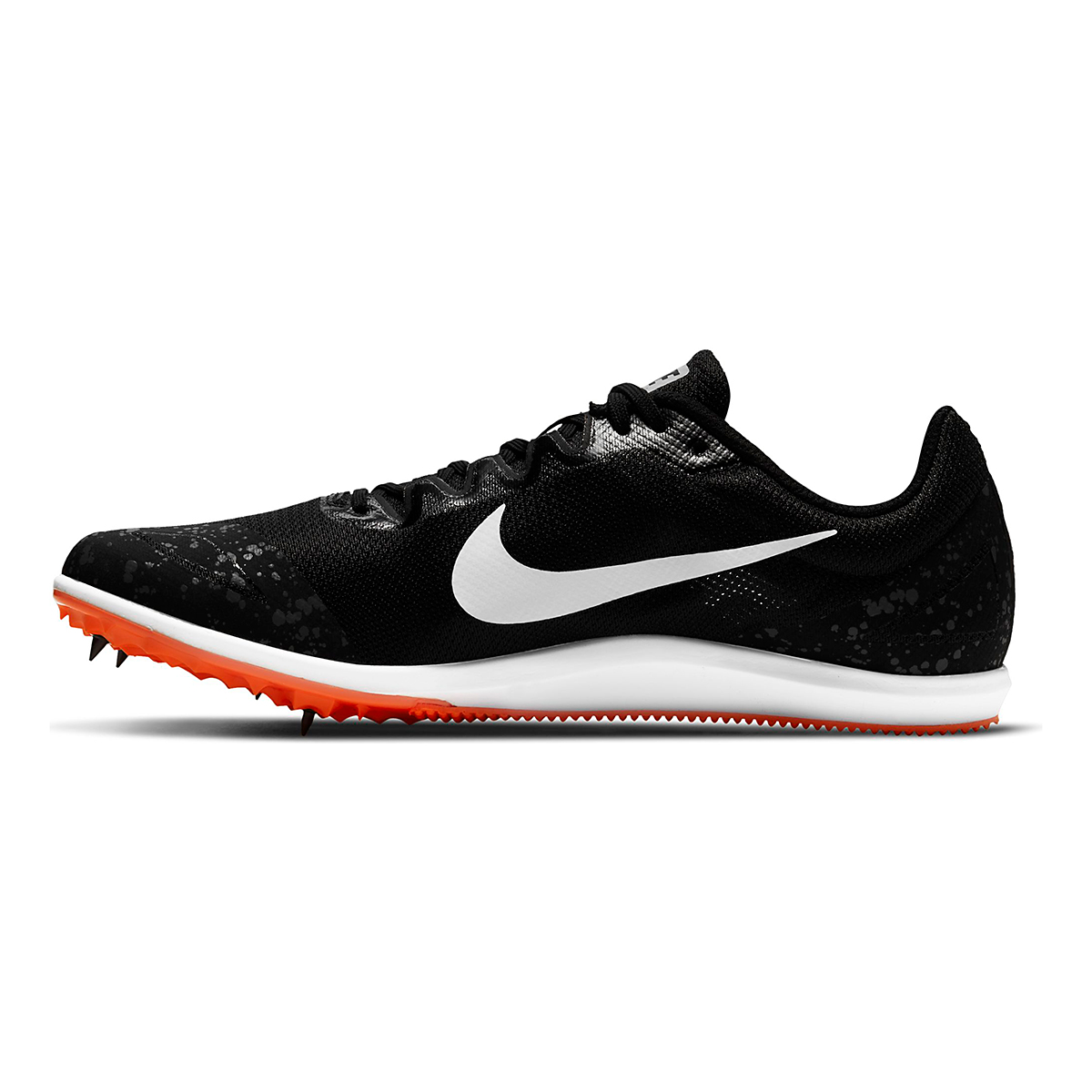 Nike Zoom Rival D 10 Track Spikes - Color: Black/White/Iron Grey/Hyper Crimson - Size: M4/W5.5 - Width: Regular, Black/White/Iron Grey/Hyper Crimson, large, image 2